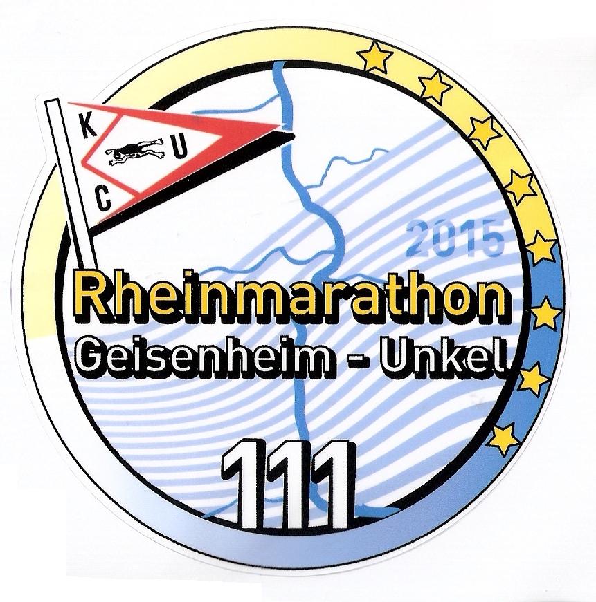 Abzeichen Rheinmarathon 2015