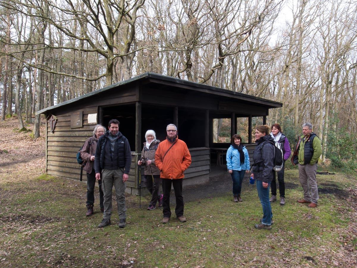 Gruppenfoto am Steinthalskopf