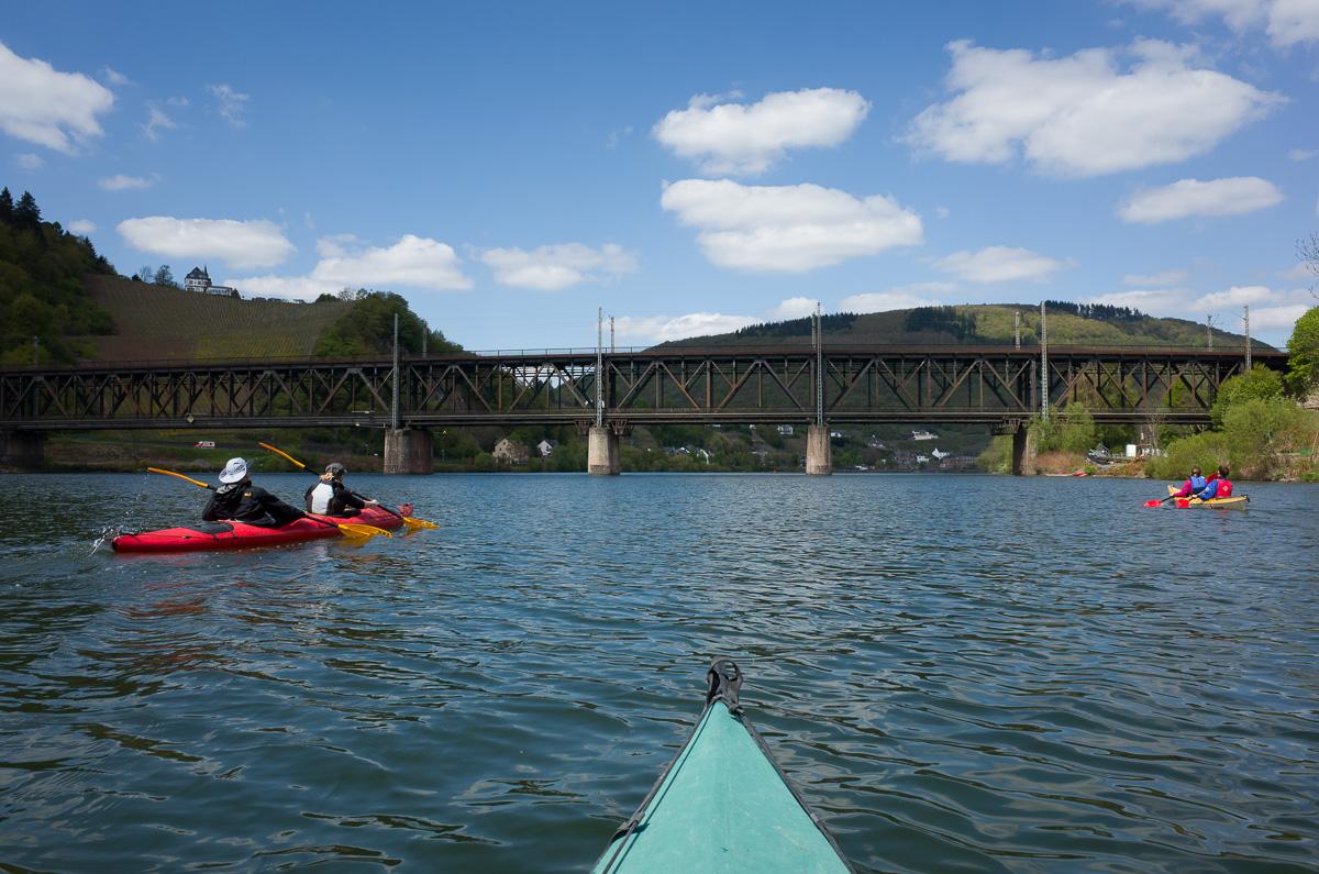 Doppelstockbrücke in Bullay