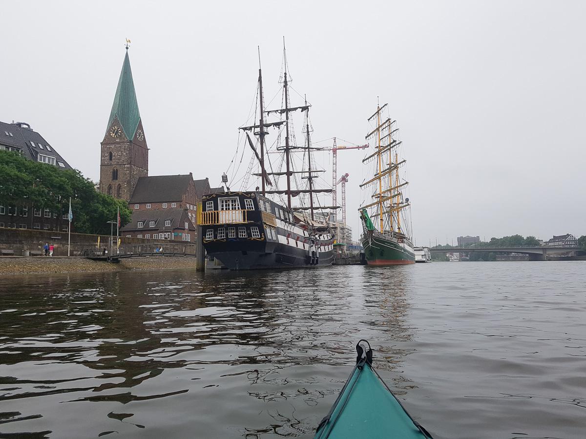 Segelschiffe in Bremen